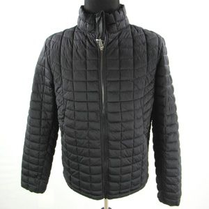 New Ben Sherman Quilted Bomber Puffer Jacket